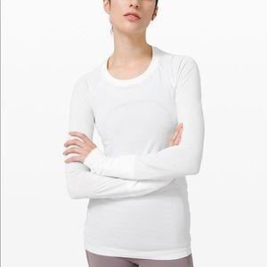 Lululemon Swifty Tech long sleeve shirt. Size 2